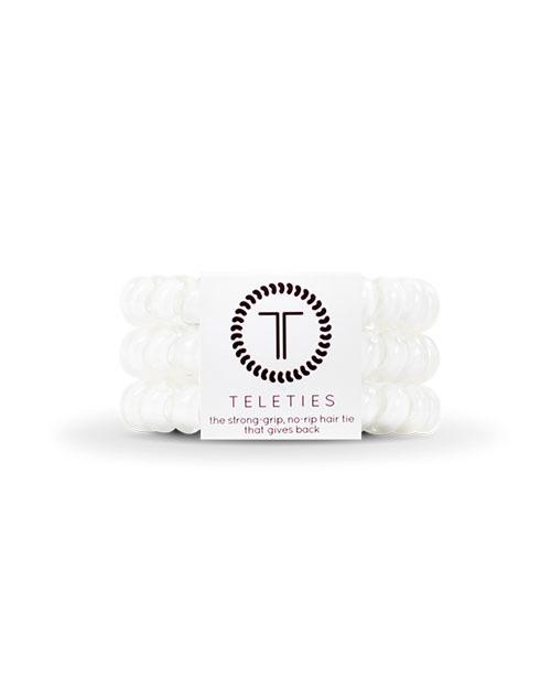 Teleties 3 Pack Large - Coconut White