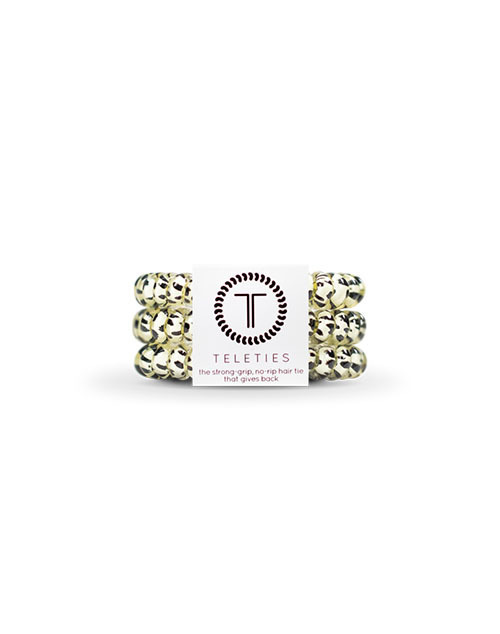 Teleties 3 Pack Small - Snow Leopard