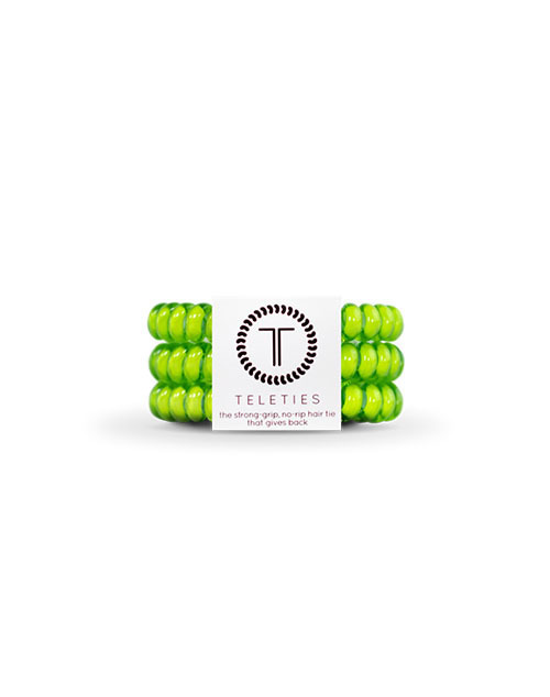Teleties 3 Pack Small - Lime