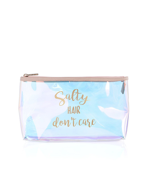 Atlantis Salty Hair Don't Care Cosmetic Bag