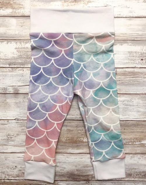 Kids Mermaid Leggings