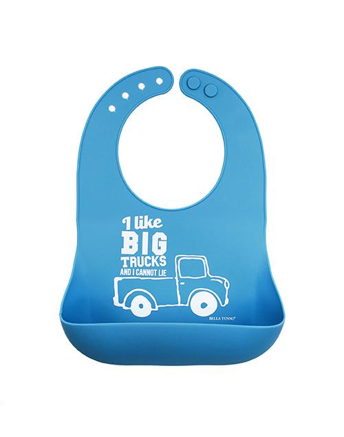 Big Trucks Wonder Bib