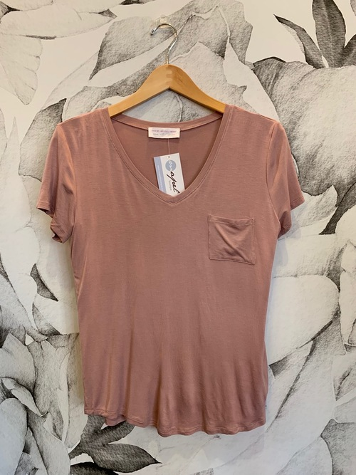 Dusty Pink Essentials Tee