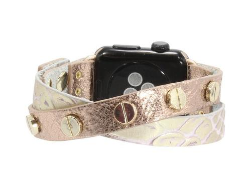Criss Cross Leather Apple Watch Bracelet