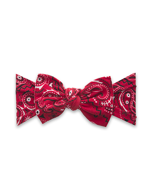 Baby Bling Printed Headband - Cherry Bandana