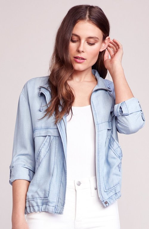 Chambray On The Go Jacket