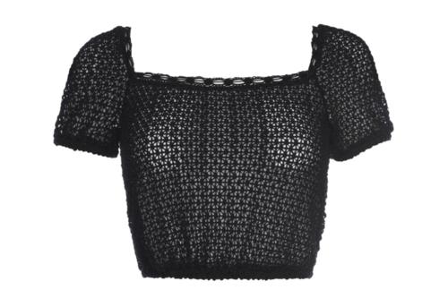 Beach Knit Crop Top