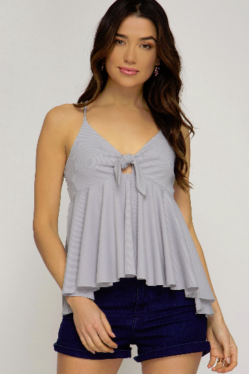 Rib Knit Cami Top