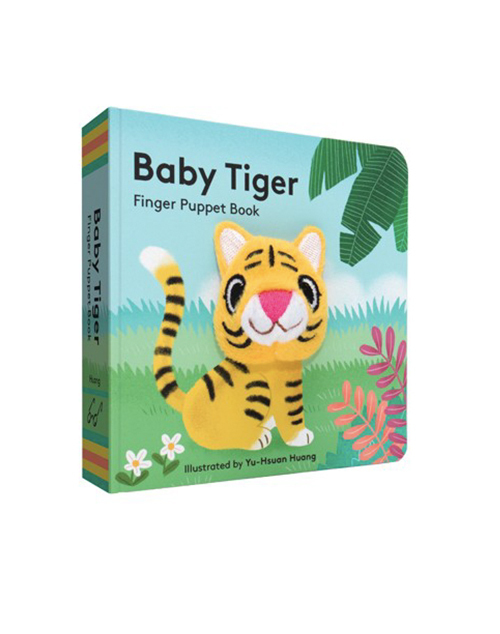Baby Tiger Puppet Book