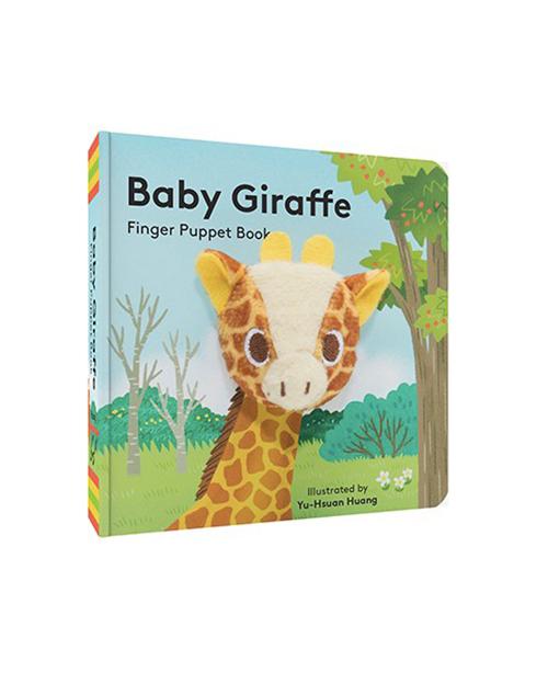 Baby Giraffe Puppet Book