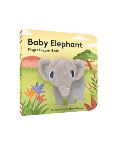 Baby Elephant Pupet Book