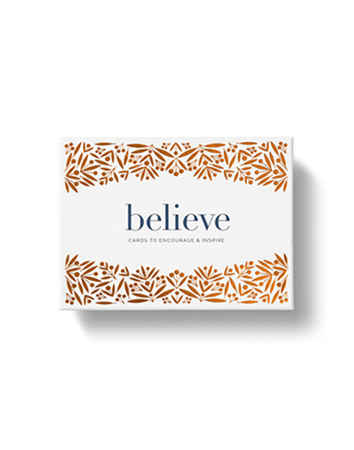 Believe Note Card Set