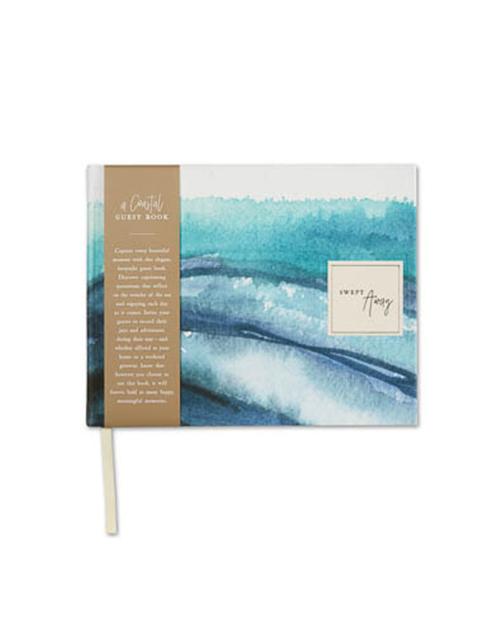 Swept Away Coastal Guest Book