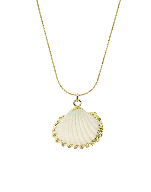Cockle Shell Dipped Necklace