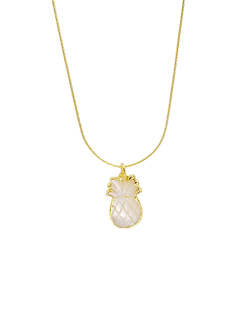 Pineapple Shell Necklace