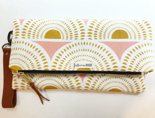 Jillian Made Sunburst Clutch