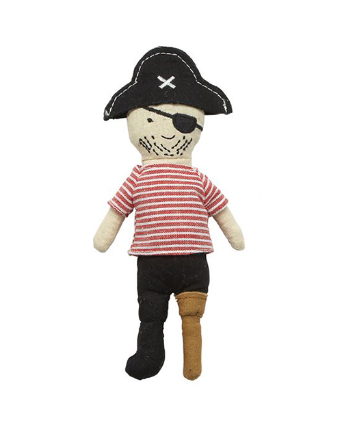 Peg Leg Pirate Rattle
