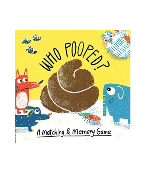 Who Pooped Memory Game