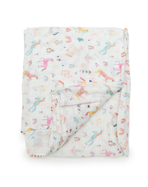 Unicorn Dream Muslin Swaddle