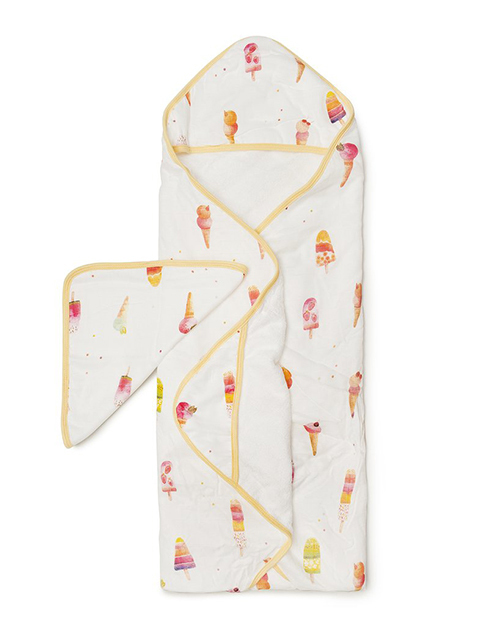 Hooded Towel Set Ice Cream