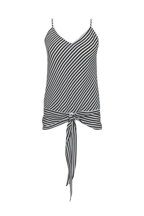 Mini Stripe Front Tie Cami