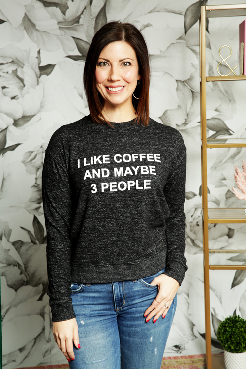 Coffee & 3 People Pullover