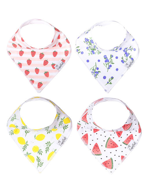 Georgia Baby Bandana Bib 4-Pack Set