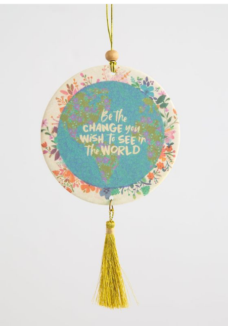Be The Change Air Freshner