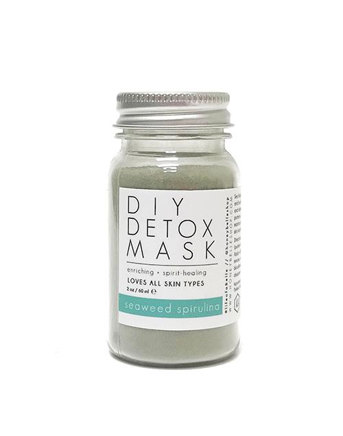DIY Detox Mask - Seaweed Spirulina