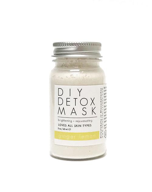 DIY Detox Mask - Lemon Ginger
