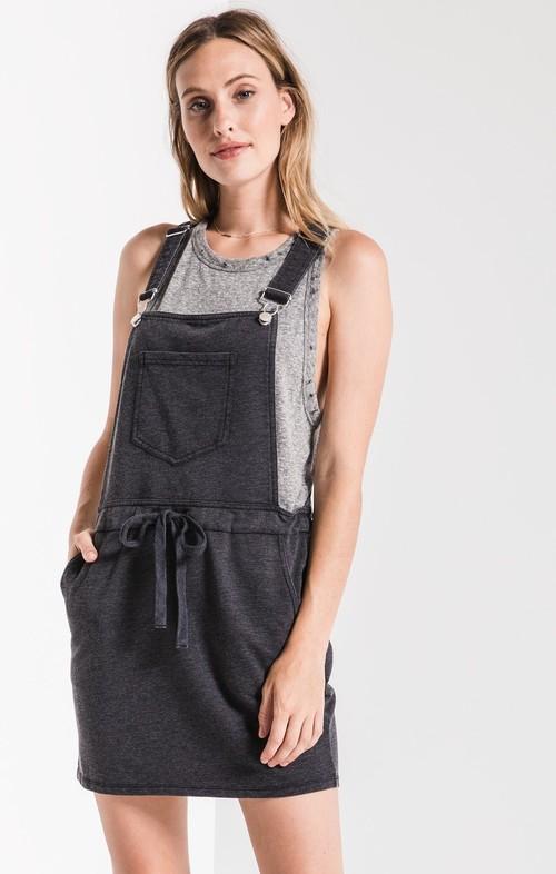 The Black Skirt Overall