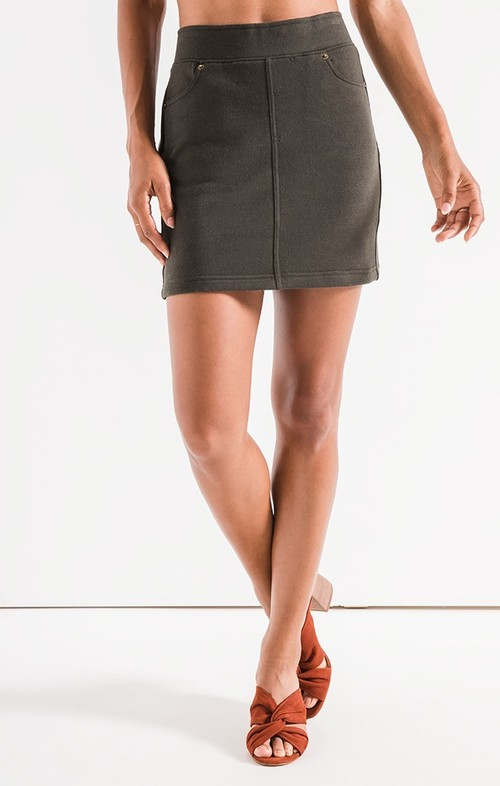 The Rosin Knit Mini Skirt