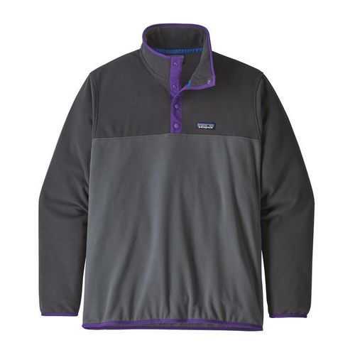 Patagonia M's Micro D Snap T P/O Forge Grey