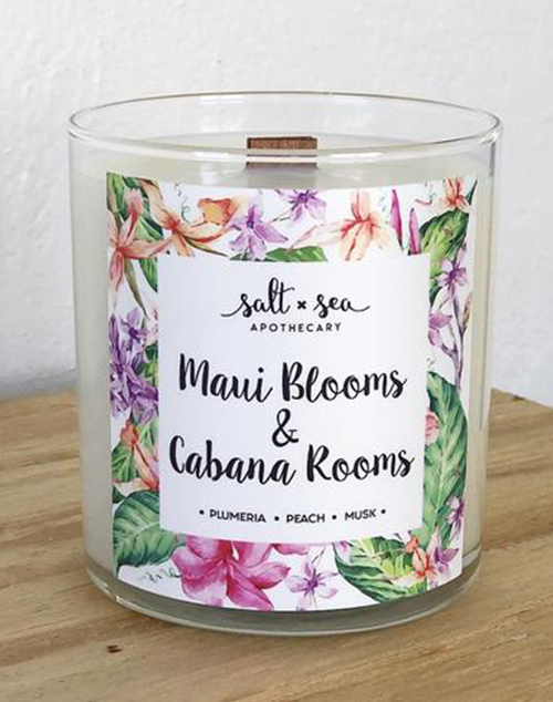 Maui Blooms & Cabana Rooms Candle