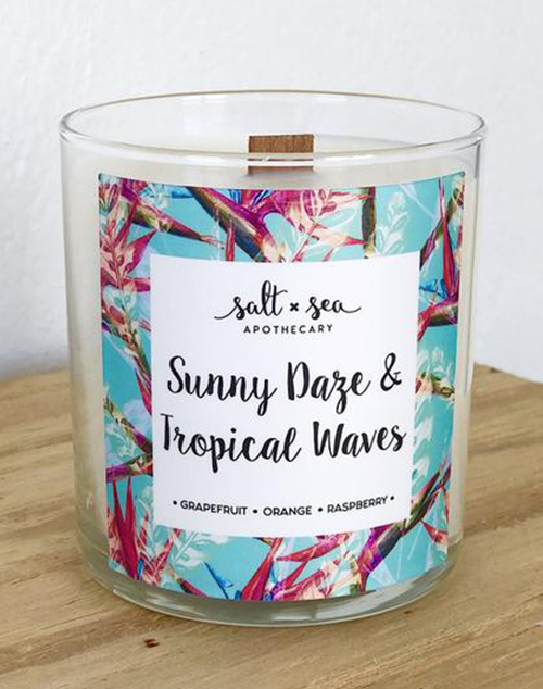 Sunny Daze & Tropical Waves Candle