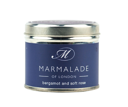 Bergamot and Soft Rose Tin