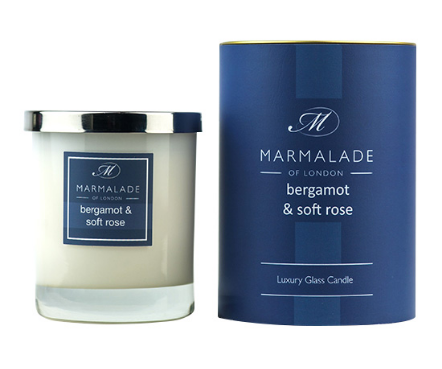 Berganot and Soft Rose Candle