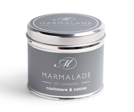 Cashmere and Cocoa Tin