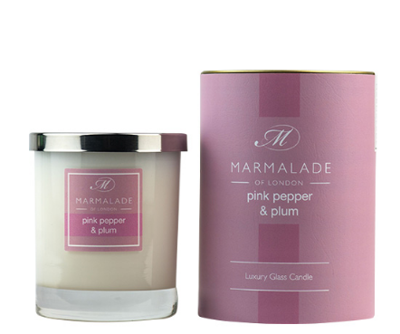 Pink Pepper and Plu, Candle
