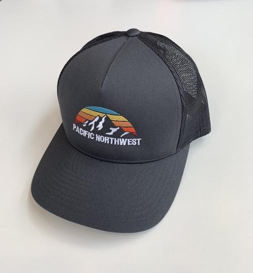 PNW Trucker Hat Charcoal