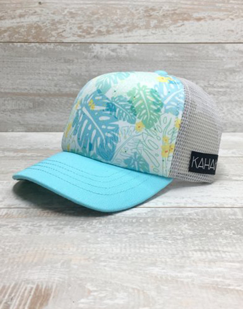 Kids Monstera Leaf Hat