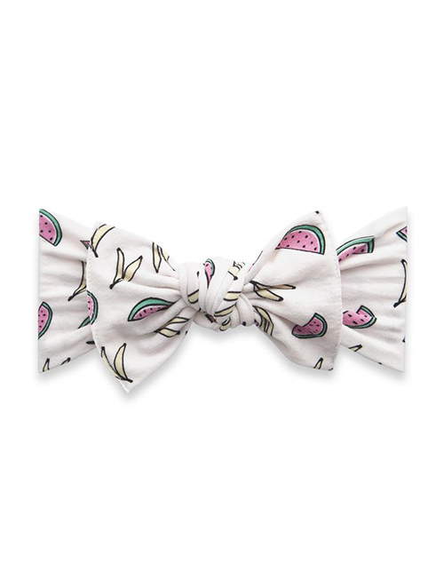 Printed Knot Banana Melon Head Band