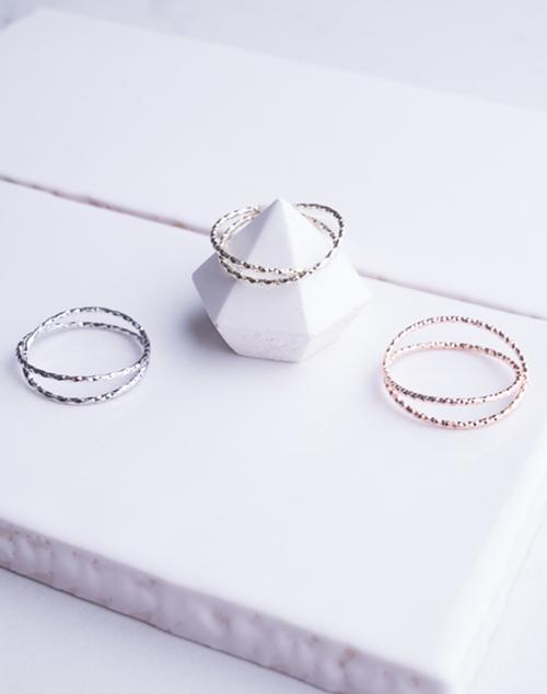 Cut X Ring