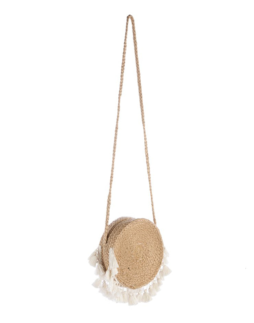 Marina Round Cross Body - Ivory