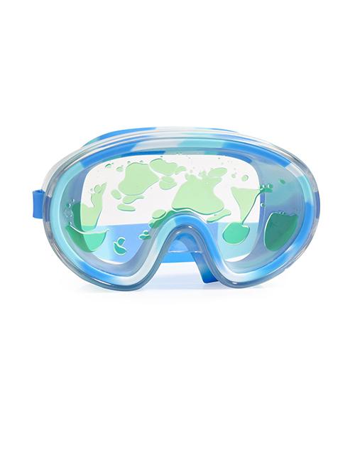 Molten Lava Swim Mask - Blue