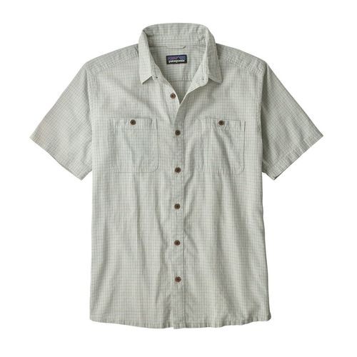 Patagonia M's Back Step Shirt Owens: Atoll Blue