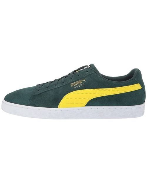 Puma M Suede Classic Racing Flags Green