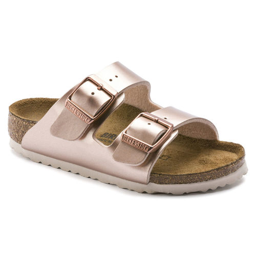 Birkenstock Kids Arizona Electric Metallic Copper