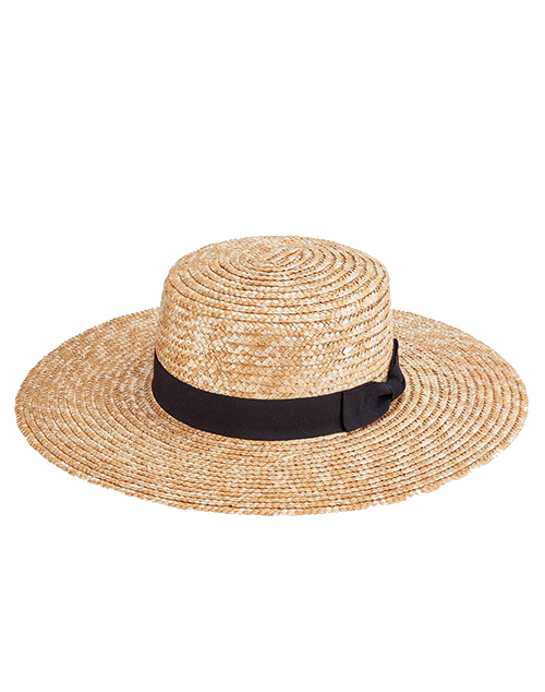 Wheat Straw Sunbrim Hat - Natural