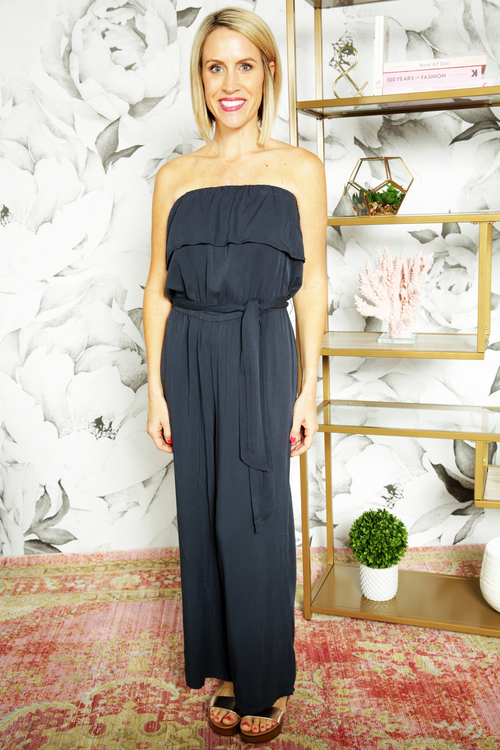 Carolina Tie Waist Jumpsuit